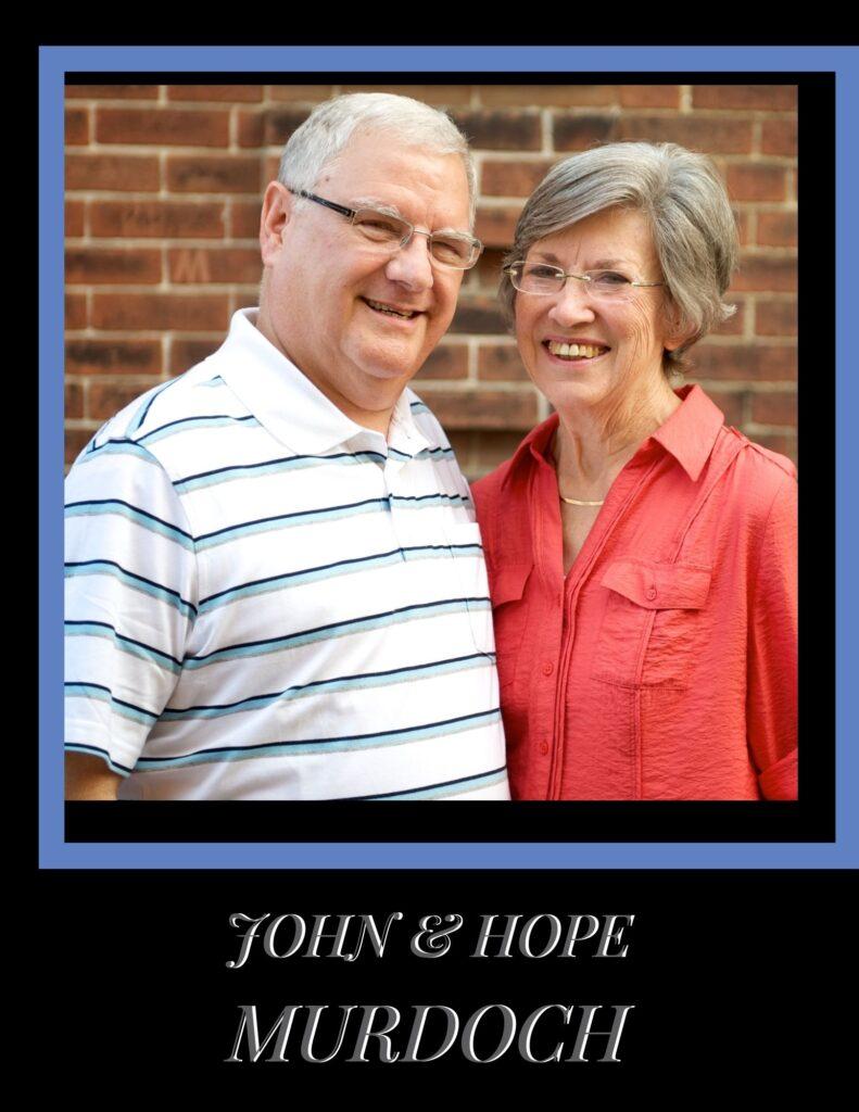 Short-term missionaries, John and Hope Murdoch
